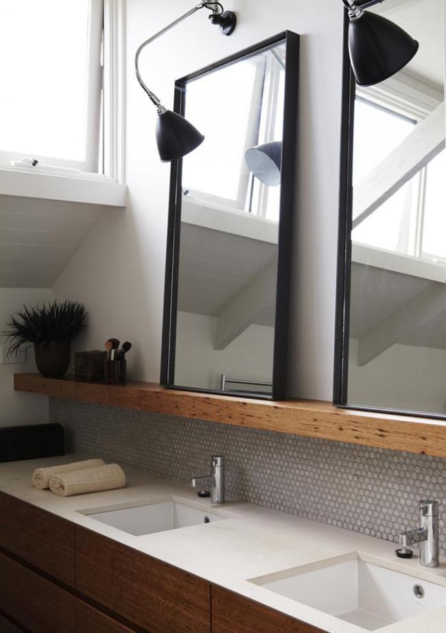 Velg riktig speil til badet