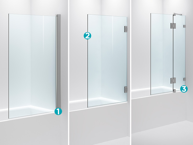 Fasjonable Dusjbadekar – en plassbesparende løsning | Bademiljø PO-38