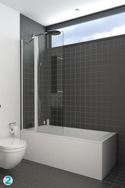 dusj i badekar Dusjbadekar – en plassbesparende løsning | Bademiljø dusj i badekar