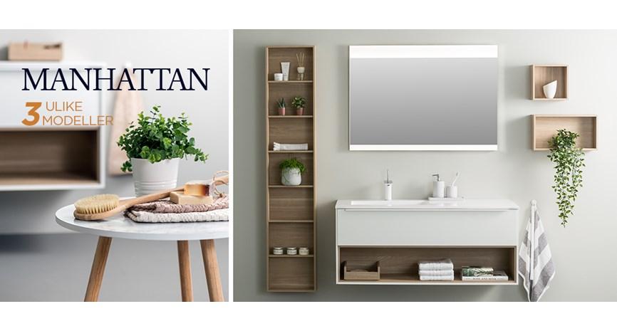 Groovy Manhattan baderomsmøbler i italiensk design | Bademiljø SM-46