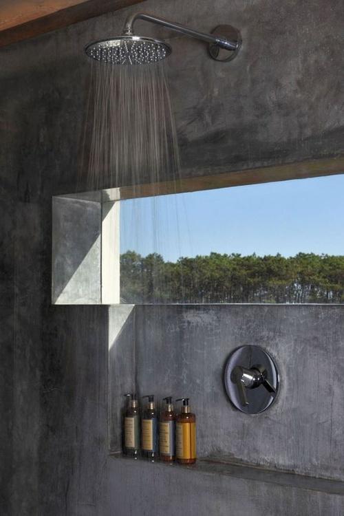 Modernistisk Innfelt hylle i dusjen UB-31