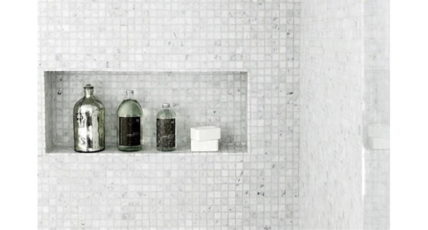 Enorm Innfelt hylle i dusjen QR-89