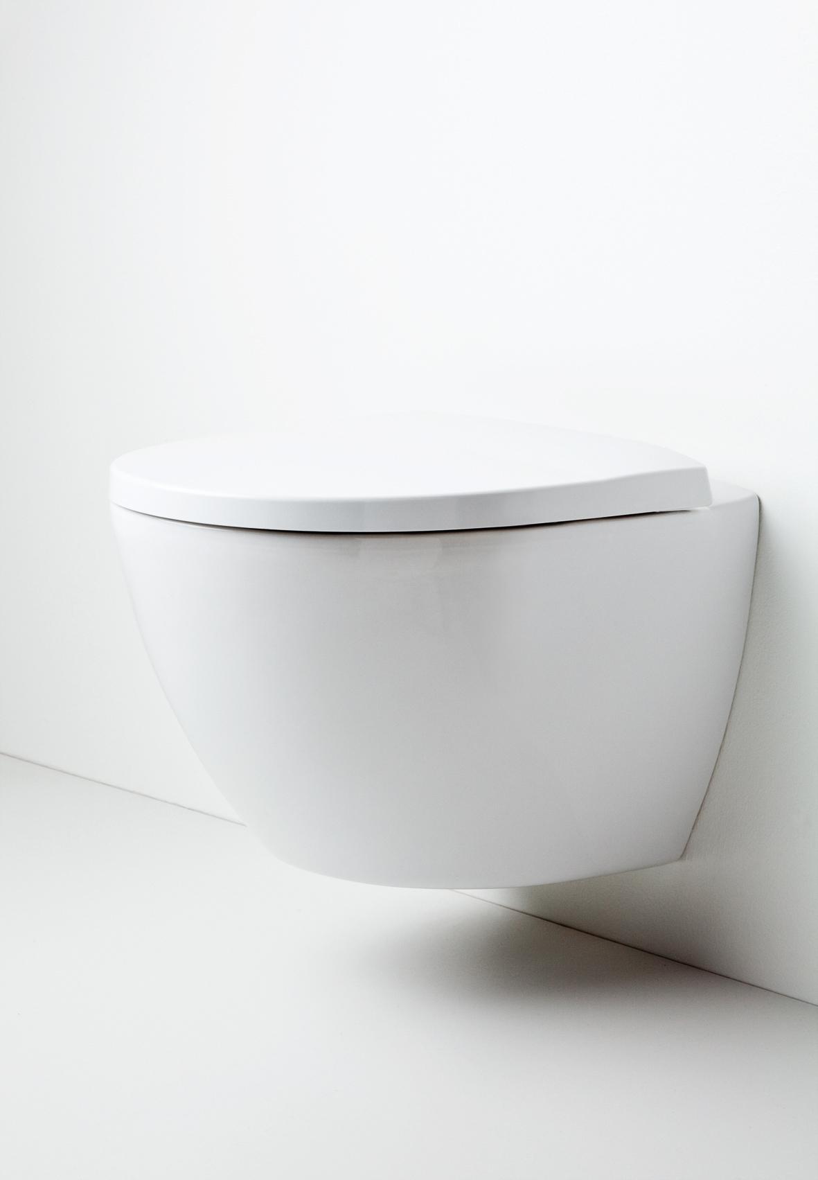 Vegghengt toalett Bademiljø